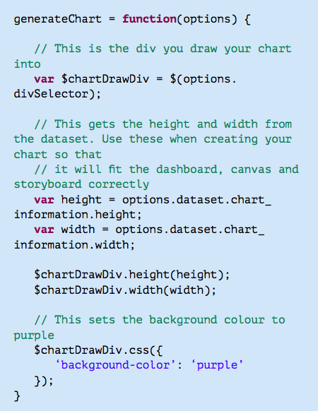 JavaScript Charts - Yellowfin Guide 7 4 - Global Site